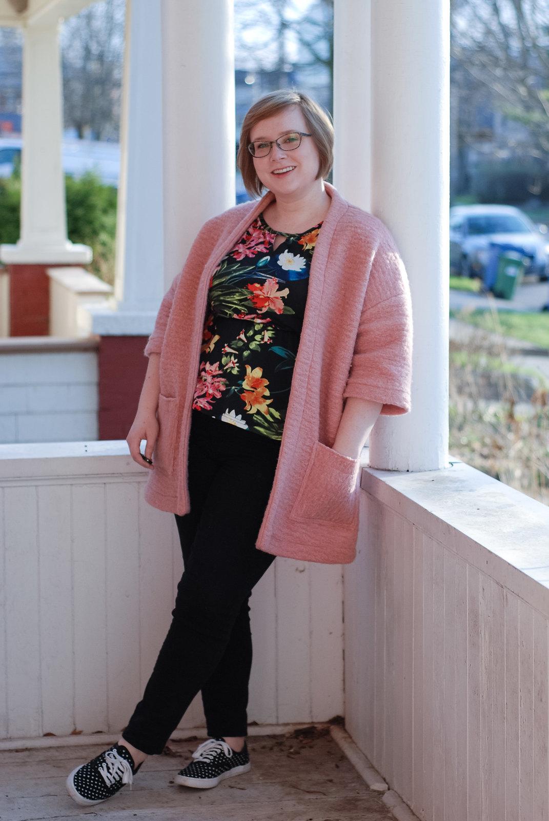 Pink Wool Berlin Jacket
