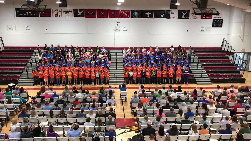 2018 3rd - 5th grade End of Year program
