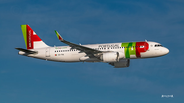 Low Pass at Delivery flight....  CS-TVA TAP - Air Portugal -  Airbus A320neo