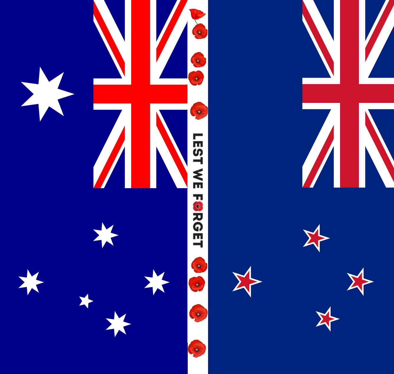 Flags of Australia and New Zealand