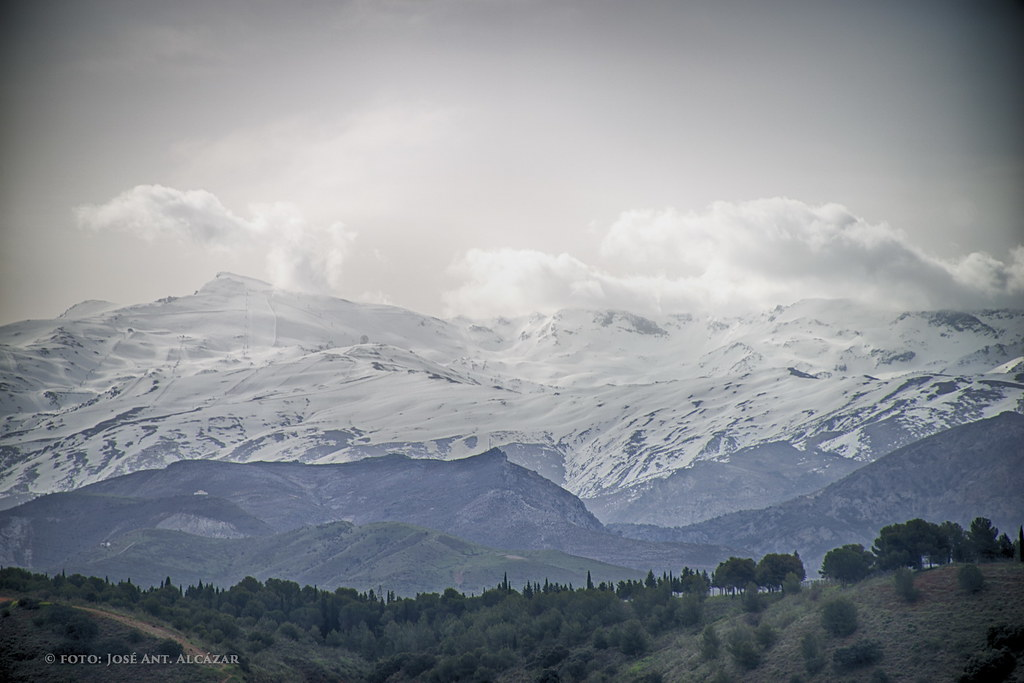 Sierra Nevada desde el