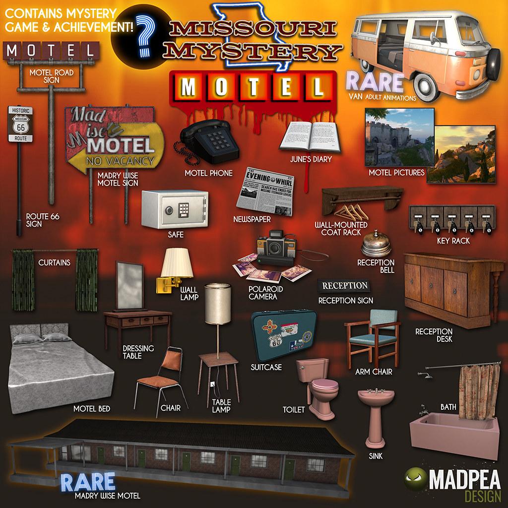 Missouri Mystery Motel Gacha Key - TeleportHub.com Live!