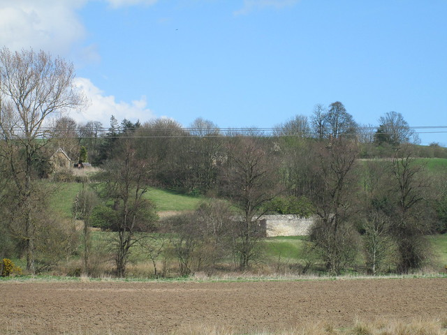 Braes Loan, walled garden