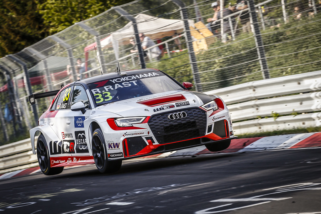 33 RAST Rene (GER), Audi Sport Leopard Lukoil Team, RS 3 LMS WTCR, action during the 2018 FIA WTCR World Touring Car cup of Nurburgring, Nordschleife, Germany from May 10 to 12 - Photo Francois Flamand / DPPI