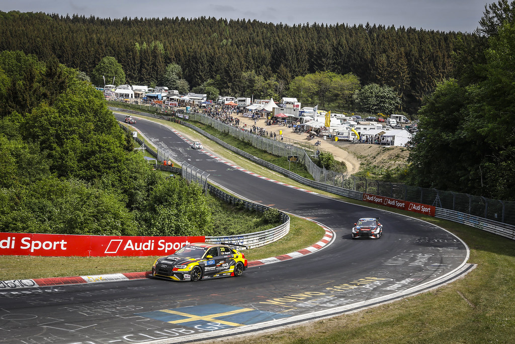 20 DUPONT Denis (BEL), Comtoyou Racing, Audi RS3 LMS, action during the 2018 FIA WTCR World Touring Car cup of Nurburgring, Nordschleife, Germany from May 10 to 12 - Photo Francois Flamand / DPPI