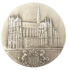 Amiens Cathedral Medal obverse