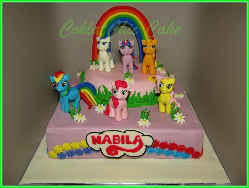 Cake My Little Pony NABILA 20 cm