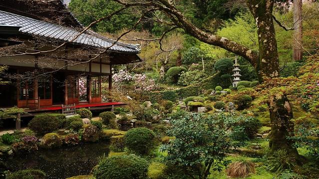 Kyoto Sanzen-in Syuheki-en Garden 京都大原 三千院 「聚碧園」