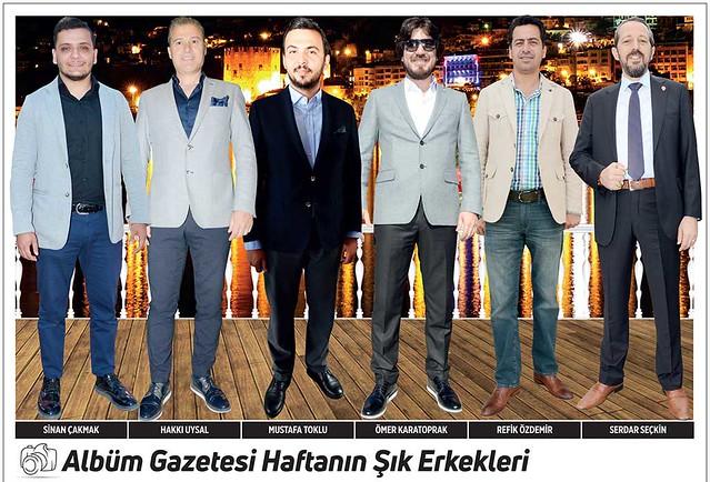 Sinan Çakmak, Hakkı Uysal, Mustafa Toklu, Ömer Karatoprak, Refik Özdemir, Serdar Seçkin