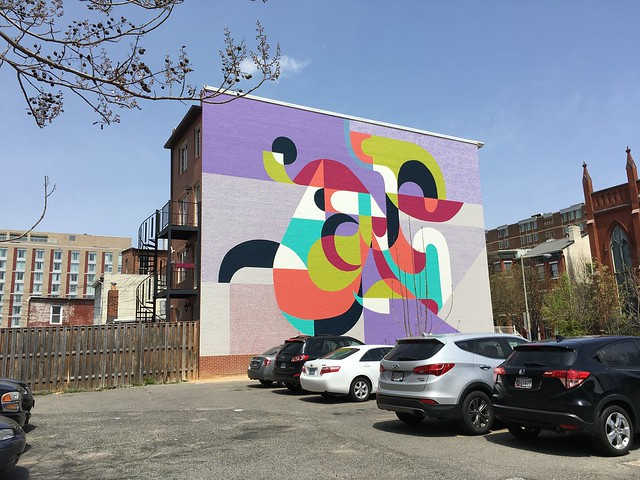 Parking mural