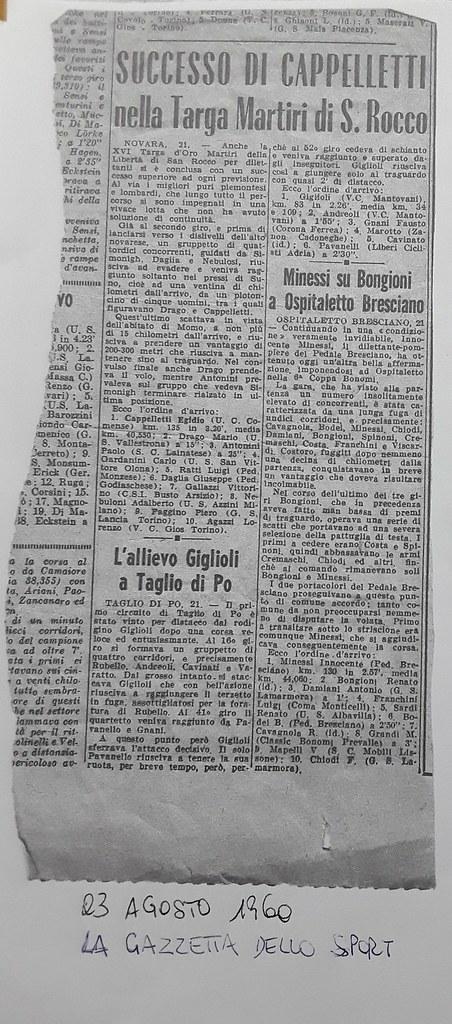 Vittoria Cappelletti anno 1960 (materiale inviato dalla figlia Silvia)