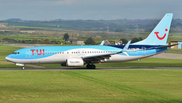 Boeing 737 -800 G-TAWV TUI