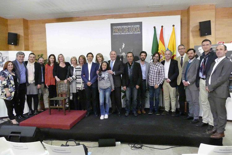 PRESENTACIÓN DEL V ENCUENTRO INTERNACIONAL DE GUITARRA PACO DE LUCÍA3