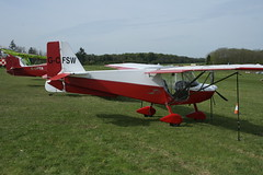 G-CFSW Best Off Skyranger (BMAA/HB/587) Popham 040514