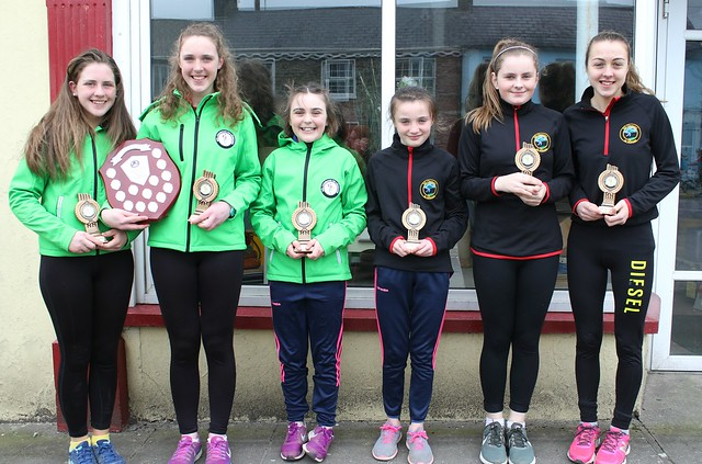 South West 1st & Carbery Girls 2nd