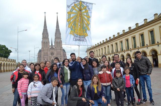 Peregrinación a Luján 2018: grupos