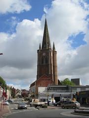 Hazebrouck: L'église Saint-Éloi (Nord)