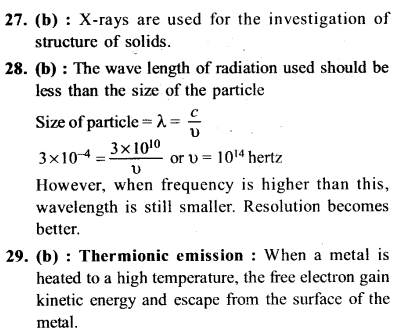 NEET AIPMT Physics Chapter Wise Solutions - Electromagnetic Waves explanation 27,28,29