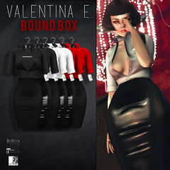 NEW! Valentina E. Yes Miss Ensemble For BOUND BOX!