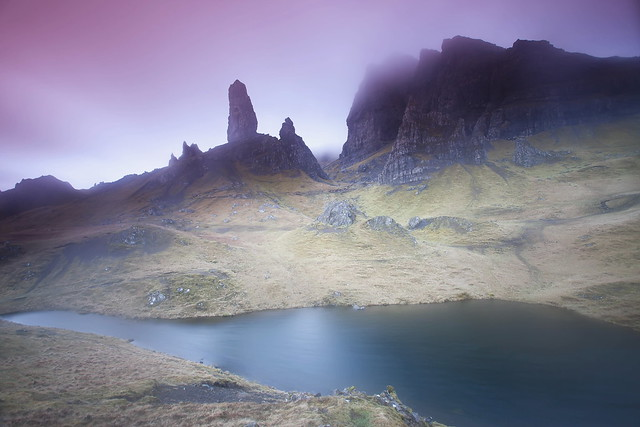 Mist on the Old Man of Storr