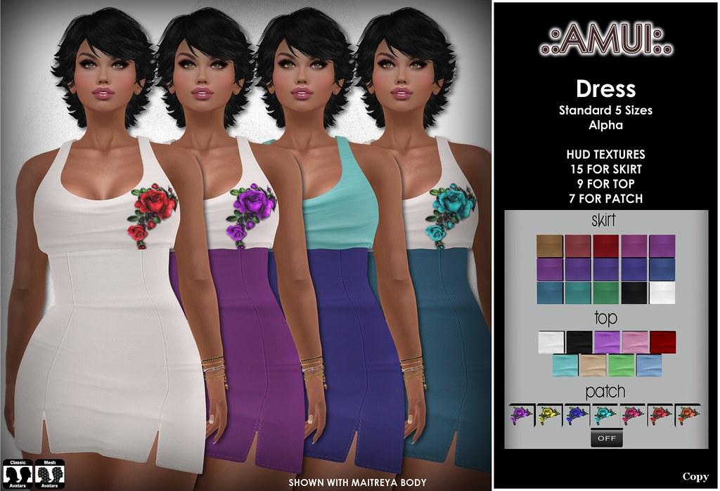 """.:AMUI:. """"Valeria"""" Dress"""