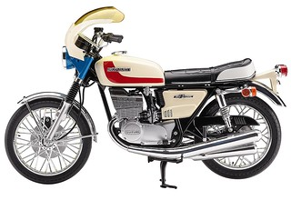 HASEGAWA《假面騎士》「本鄉猛的機車」1/12 比例組裝模型作品!仮面ライダー  本郷猛のバイク
