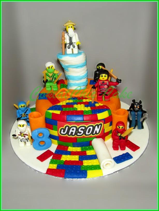 Cake Ninjago Jason 15 cm