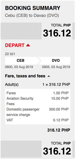 Cebu to Davao AirAsia Red Hot Sale