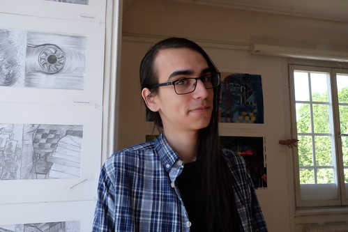 Jacob Gahona Svensson, De Geergymnasiets Vårsalong