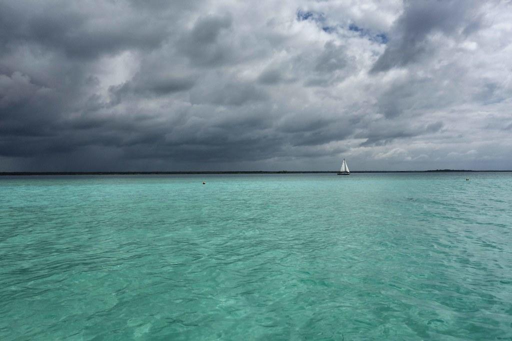 Bacalar - Lagune - Boat