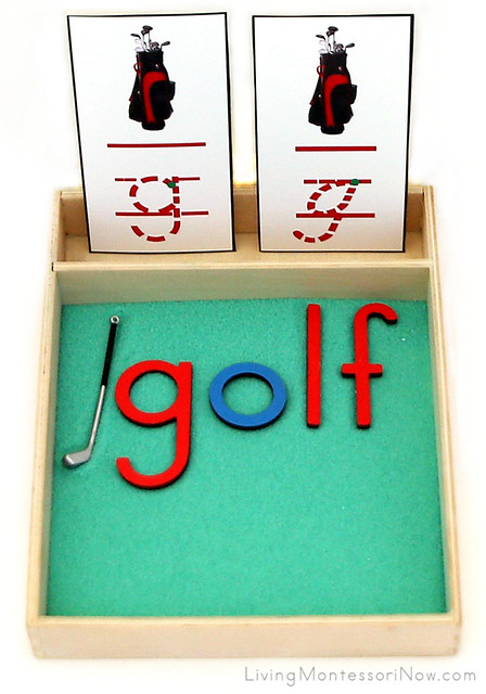 G is for Golf Salt Tray