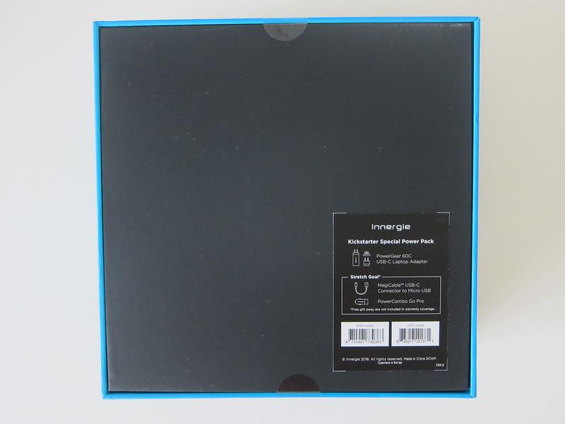Innergie 55cc Kickstarter - Box Back