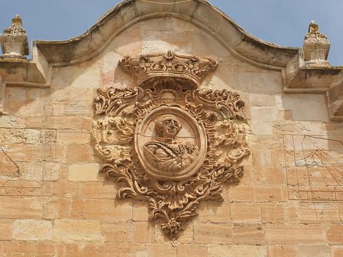 Ayuntamiento - Detalle de la fachada a la plaza