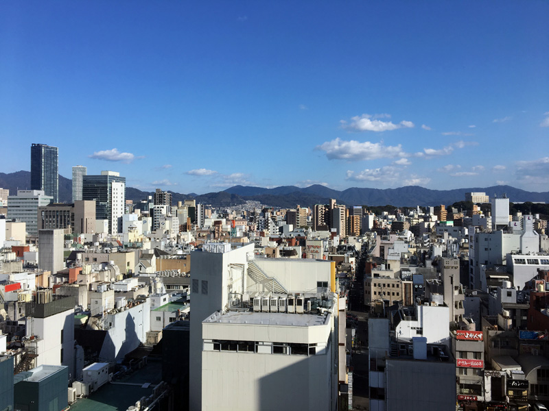 Hiroshima City View Daylight