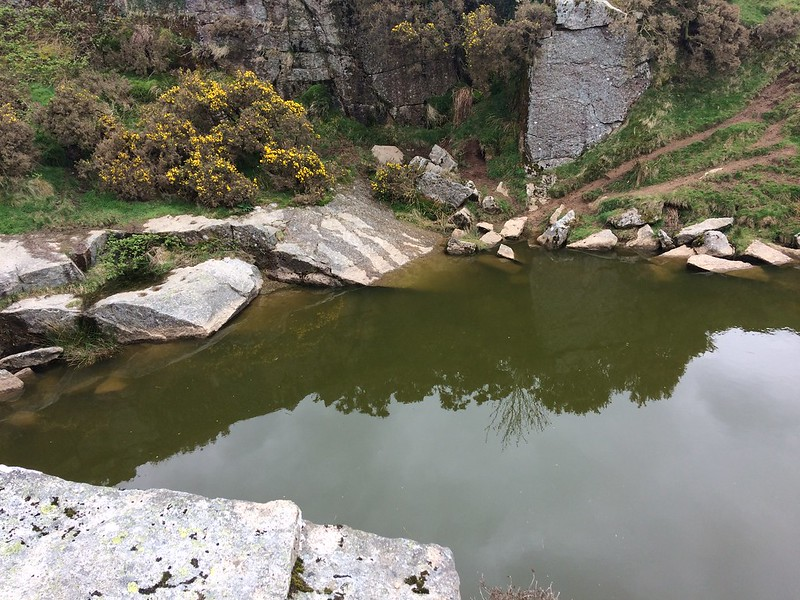 Quarry at Sampford Tor