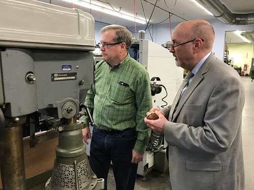 Mayor Madden visits HJM Precision, Inc.
