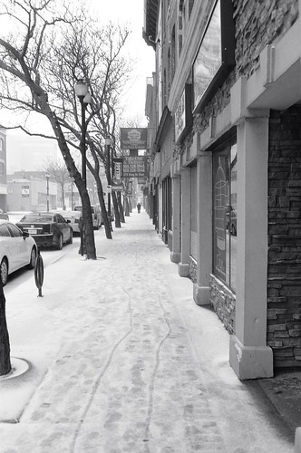 The Ice Storm series: Alone on Main Street
