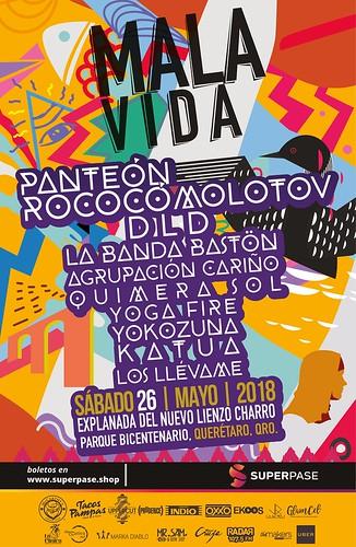 Festival Mala Vida - Querétaro