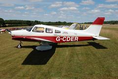 G-CDER Piper PA-28-161 [28-8116222]  Popham 110710