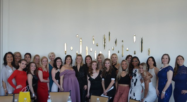 GSD's 2018 Humanitarian Award recipients with Kristen Bell and Josina Anderson