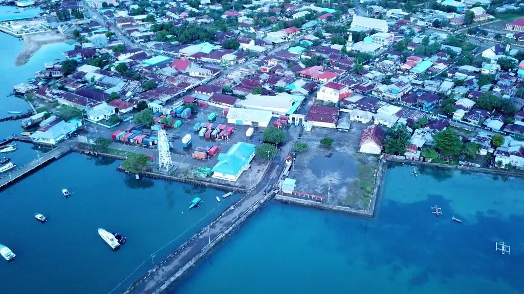 Daruba City, Morotai Island, North Moluccas