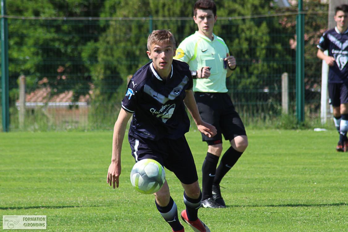 Cfa Girondins : Matthias Pejac rejoint le SCO d'Angers - Formation Girondins