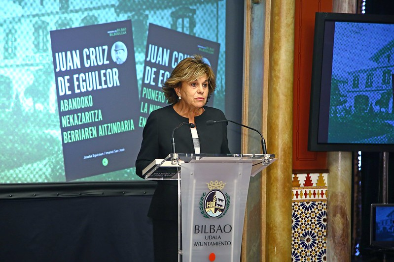'Juan Cruz de Eguileor. pionero de la nueva agricultura en abando' liburuaren aurkezpena