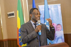 Eric Alain Ategbo, Chief of Nutrition and Food Security UNICEF Ethiopia