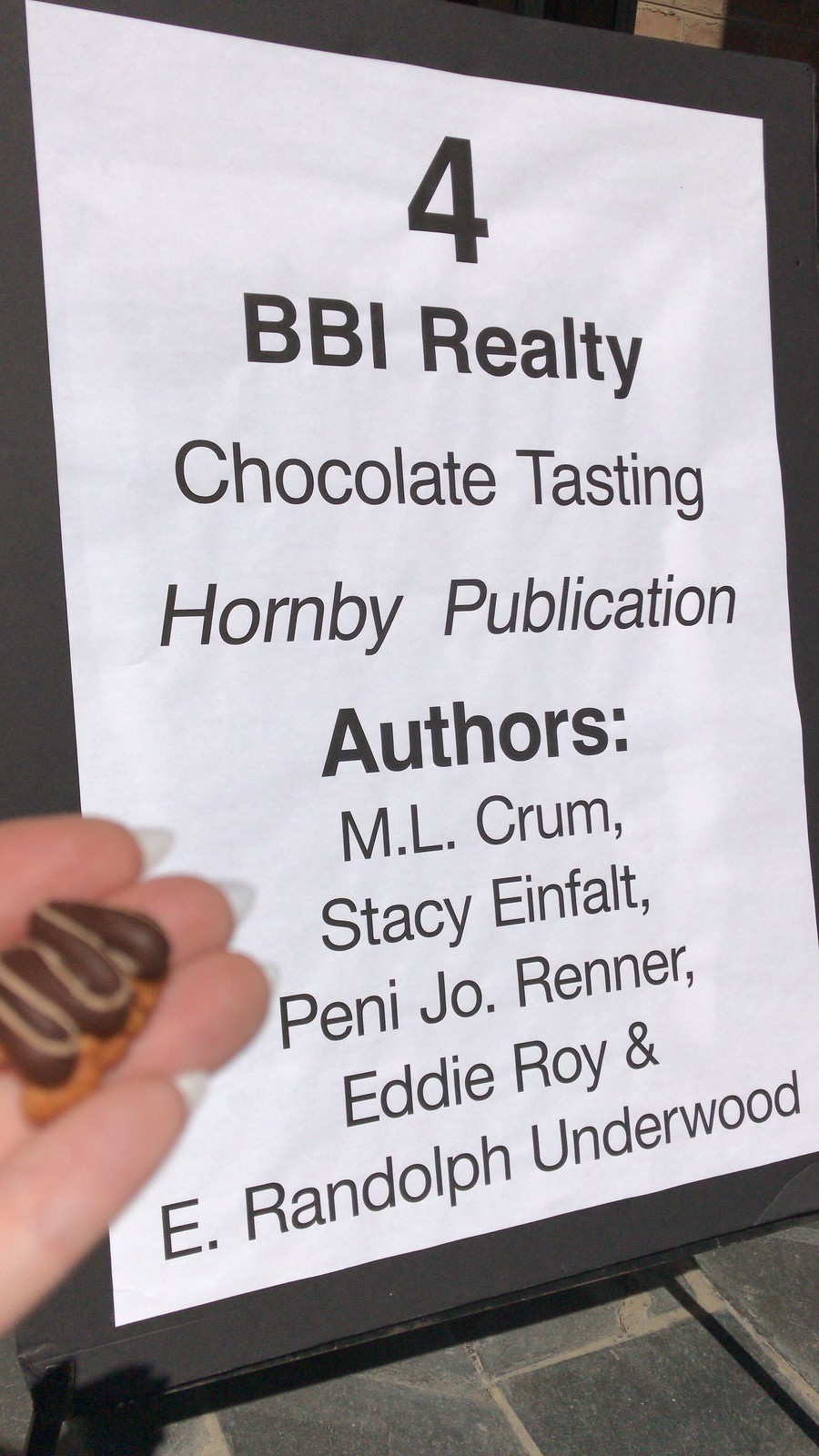 Chocolate fest & book faire Martinsburg