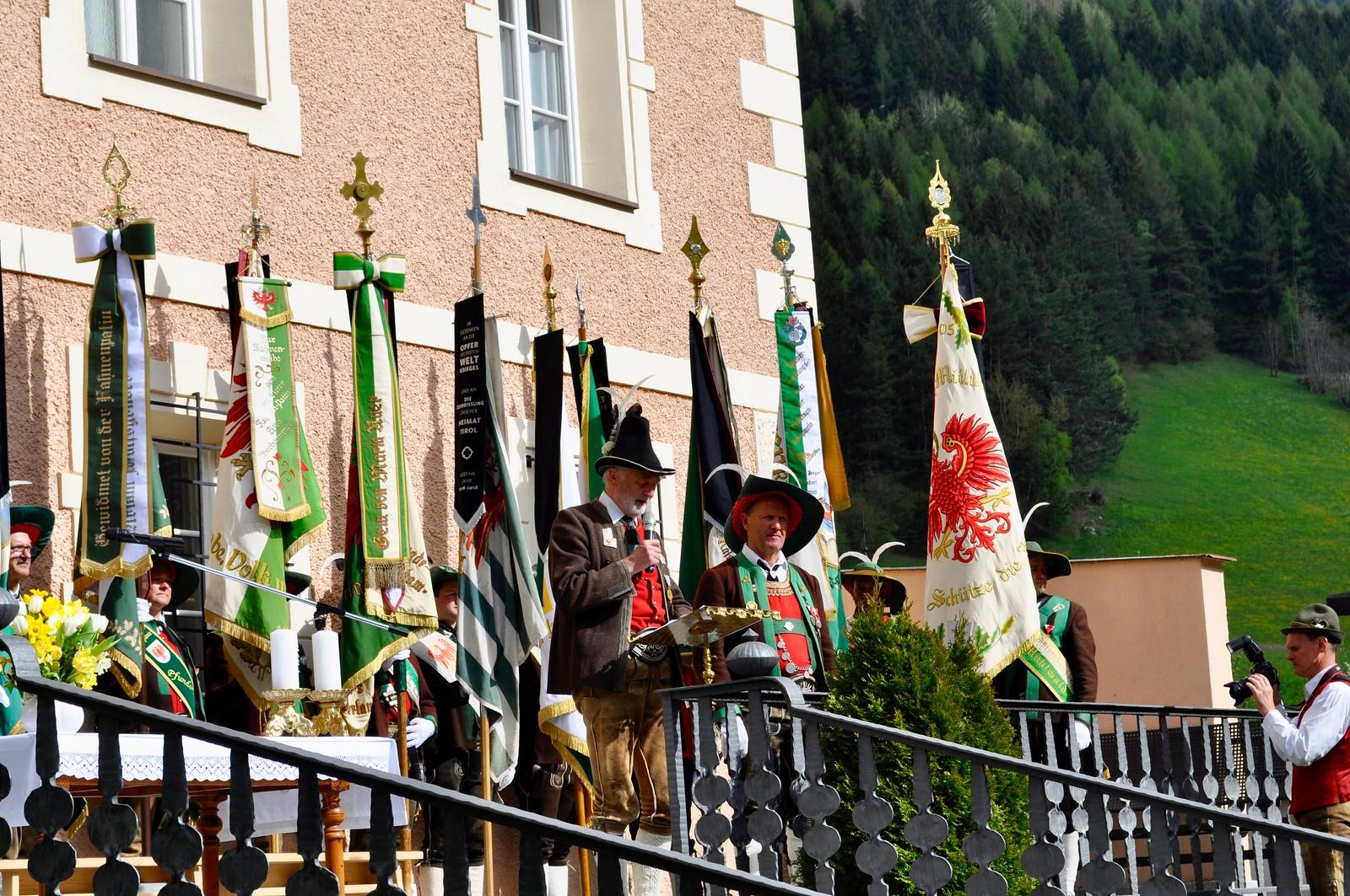 40-Jahrfeier der Schützenkompanie St. Johann in Ahrn, 29.04.2018