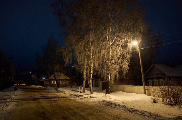 Night village., Fujifilm X-E1, XF18-55mmF2.8-4 R LM OIS