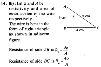 NEET AIPMT Physics Chapter Wise Solutions - Current Electricity explanation 14