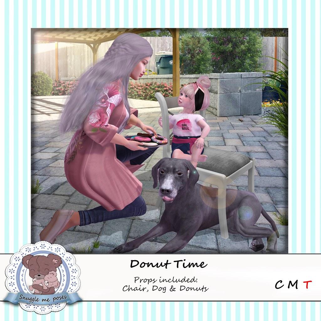 Snuggle Me Poses - Donut Time - TeleportHub.com Live!