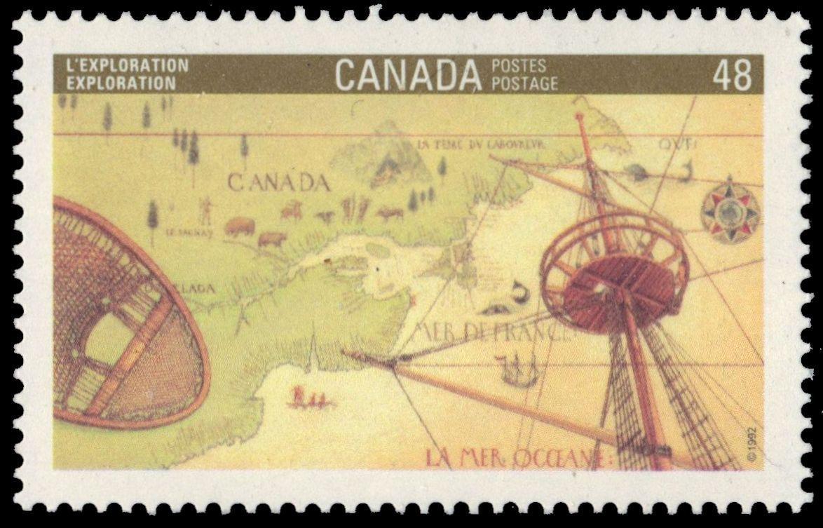 Canada - Scott #1406 (1992)